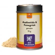 Asafoetida & Fenegriek, gem. GEEN BIO - 70 g