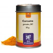Curcuma, gem. BIO 50 G