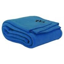 Yogadeken 140 x 200 cm blauw